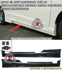 Mu-gen RZ Style Side Skirts (ABS) Fits 11-15 CR-Z 2dr