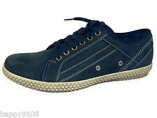 YACHTMAN Con Cordones Zapatos De Cubierta SEAFARER Barco Zapatillas/Sneekers FREEPOST Nuevo Y En Caja