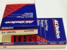 AC Delco Spark Plugs CR43TS BOX SET OF 8
