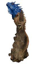 Golden Iguana Hand Crafted Wooden Sculpture - LARGE (Fairtrade Reclaimed Wood)