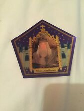 Harry Potters Professor Albus Dumbledore chocolate frog card.