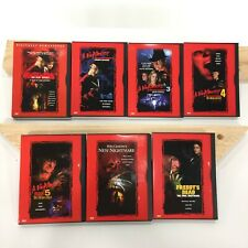 Nightmare on Elm Street 7 DVD Lot Collection Freddy Scary Halloween Horror Movie