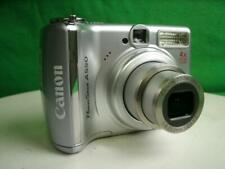 Canon PowerShot A550 7.1MP Digital Camera - Silver Tested and Working
