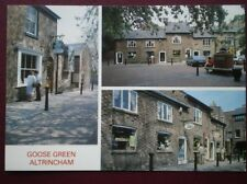 POSTCARD CHESHIRE ALTRINGHAM - GOOSE GREEN MULTI VIEW