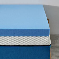 2 Inch Queen Size Memory Foam Topper Mattress With  Pressure Relief & Support