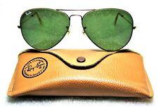 Ray-Ban USA NOS Vintage B&L Aviator Arista 24kGP 58mm G-15 New Sunglasses