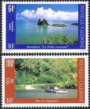 New Caledonia 1989 Tourism/Views/Car Ferry/Palm Trees/Transport 2v set (n42137)