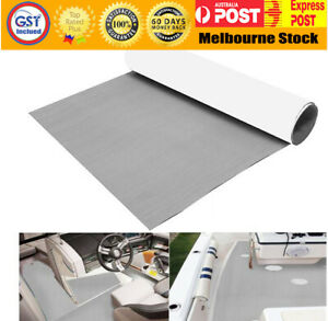 EVA Boat Decking Marine Deck Flooring Carpet With Adhesive 90x240cm --Grey