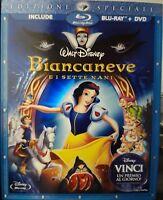 BIANCANEVE E I SETTE NANI BLU RAY+DVD Disney Ed. SPECIALE SLIPCOVER OLOGRAFICA