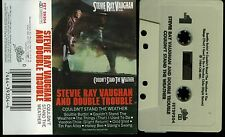 Stevie Ray Vaughan and Double Trouble Couldn't Stand The Weather USA Cassette