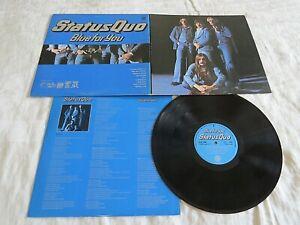 STATUS QUO-blue for you '76 UK VERTIGO LP ORIG+G/F+ INN. ROCK CLASSIC