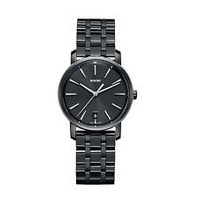 Rado R14063182 Women's Diamaster Ceramic Black Quartz Watch