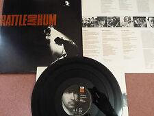 U2 - Rattle and Hum Double LP Gatefold sleeve 1988