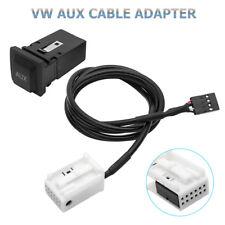 AUX IN Raido 3.5mm Kabel Adapter VW RCD 210 310 RCD510 Golf Touran Passat