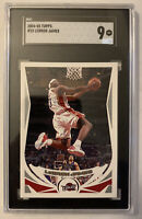 2004-05 Topps Lebron James SGC 9 Comp PSA 📈🔥