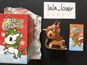 Tokidoki x Pop Mart Unicorno Xmas Christmas 2018 Luge Reindeer Chaser Chase