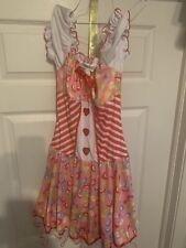 New Dreamgirl Lollipop Sensation Katy Perry Costume Adult Size Medium Dress Only