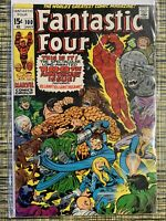1970 Fantastic Four #100 Marvel Comics Mid Grade Bagged & Boarded