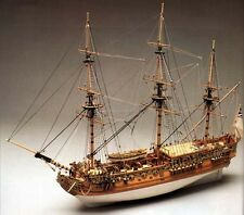 "Beautiful, brand new Mantua Panart wooden model ship kit: the ""Royal Caroline"""
