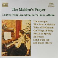 The Maiden's Prayer: Leaves from Grandmother's Piano Album (CD 1995 Naxos) VG+++