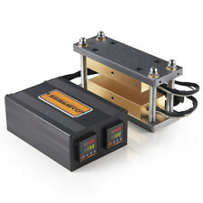 "Dabpress 3x7"" Rosin Caged Plate Kit - Pairs 12-20 Ton Hydraulic Rosin Heat Press"