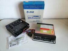 Autoradio Vintage ZEUS Z 1030 Cassette 30+30 W Giacenza NUOVA BOX CAR Radio NEW