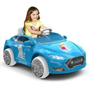 Disney Frozen Convertible Coupe 6-Volt Ride-On ~ New in Box - Rare Frozen Car