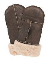 NEU US AF Fäustlinge Handschuhe B3 Echtleder braun Winter Fausthandschuhe M-2XL