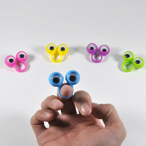 10PCS Finger Spies Eyes Oobi Finger Puppets Ring, for children, small size