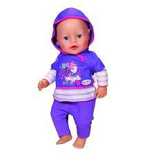 Zapf Creation Baby Born Freizeit Kollektion  822166 lila  by Brand Toys