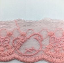 x2m Teddy Bear Baby Lace Trim - dolls dress clothes trim - sewing lace trimming