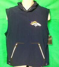 W231 NFL Denver Broncos Nike Sideline Fly Rush Performance Vest Men's Medium NWT
