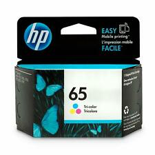 Genuine HP 65 Color Ink Cartridge for ENVY 5020 5030 5032 5052 5055 AMP 100