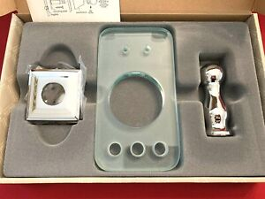 NEW Baldwin Bath Toothbrush Tumbler Holder Lafayette Polished Chrome/Glass