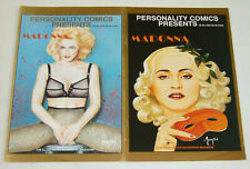 Personality Comics Presents Madonna #1-2 complete series - illustrated biography