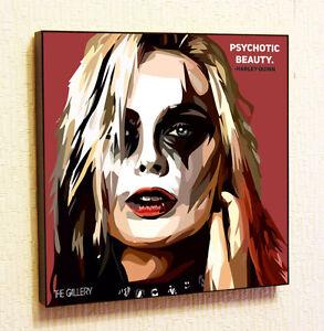 Harley Quinn Marvel DC Comics decals Decor Print Wall Art Poster pop Canvas