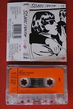 SONIC YOUTH GOO RARE EXYU CASSETTE TAPE