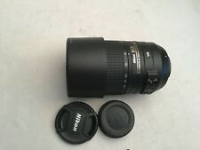 Nikon NIKKOR-zoom 55-300mm f/4.5-5.6 AF-S VR ED Lens +lens hood
