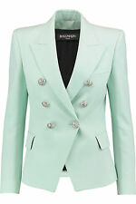 Balmain Double-breasted blazer FR38 UK10  sold out Style Jacket