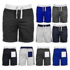 Markenlose Herren-Fitness-Shorts aus Polyester