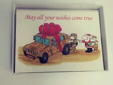 May All Your Christmas Wishes Come True Humm-V Christmas Cards 12 Marines