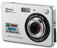"""Appareil Photo Numérique HD Digital 21 Megapixels, Ecran 2.7"""" LCD, Zoom 8x"""