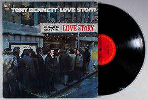 Tony Bennett - Love Story (1971) Vinyl LP •PLAY-GRADED•