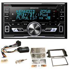 Kenwood DPX-7100DAB DAB+ USB MP3 iPhone CD Einbauset für Suzuki SX4 Fiat Sedici