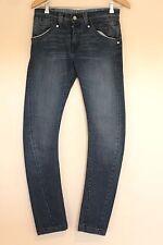 Señoras Levi's Jeans W27 L32-Vintage Años 80 Levi Corte Cónico 613 Azul Denim Jeans