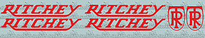 CLASSIC RITCHEY vinyl decals - perfect for re-sprays