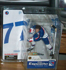 McFARLANE NHL LEGENDS 2 PHIL ESPOSITO NY RANGERS VARIANT CHASE FIGURE BRUINS
