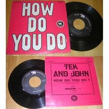 TEK AND JOHN - How Do You Do ? / Writes French PS Pink Elephant Dutch Pop Folk