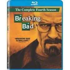 Breaking Bad Series 4 Complete Blu-ray 3-Disc Set *NEW SEALED FAST UK DISPATCH *