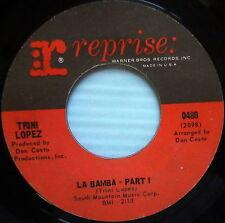 TRINI LOPEZ 45 La Bamba/ Trini's Tune REPRISE USA PRESS #139